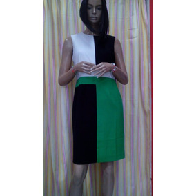 Vestido Casual Calvin Klein Multicolor Talla 6 Original D Ny