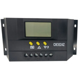 Controlador De Carga 30a 12v/24v Regulador De Energia Solar