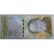 Billete Venezuela 50 Bs 24 Mayo 2007 D8 Unc 2da Emisión Bsf
