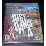 Just Dance 4 Para Ps3 Nuevo Fisico