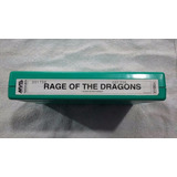 Rage Of The Dragons Cartucho Mvs Neogeo Original