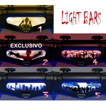 Adesivo Light Bar Decal Ps4 Zombies/zumbis/terror Dual Shock