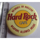 Pin Broche Hard Rock Cafe U.s.a.4 X 4cm