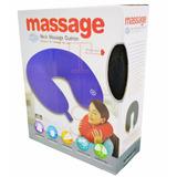 Almohada Cervical Con Masajeador De Cuello Neck Massage Ts