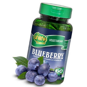 Blueberry Beneficios 60 Cápsulas 550 Mg Mirtilo Polifenóis