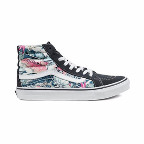 Tênis Vans Sk8-hi Slim Tropical Multi True White.