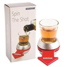 Juego Previa Spin The Shot Chupito Giratorio Vaso Con Flecha