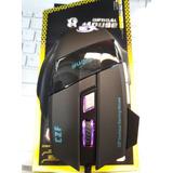 Mouse Gamer Alambrico Nuevo Cambia De Colores Ergonómico W.m