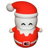Lampara Navidad Led Santaclaus Silicon Colores Recargable Ms