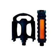 Pedales Bicicleta - Resina Plastico - Rosca 1/2 - Playera