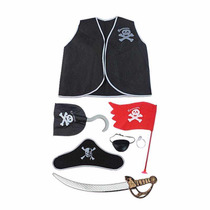 Kit Piratas Fantasia Infantil
