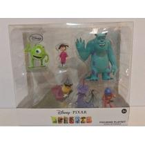 Set De Figuras Pelicula De Monster Inc Disney Pixar