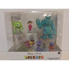 Set De Figuras Pelicula De Monster Inc Disney Pixar