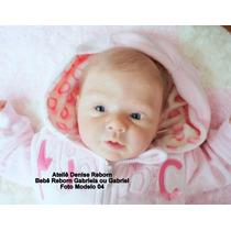 Boneca Bebê Reborn Gabriela Ou Gabriel Opção Econômica