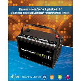 Bateria Solar Plomo Puro Alphacell 4.0 Hp 103.hp 12v