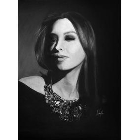 Arte, Retratos Y Dibujos A Lápiz (28 X 36 Cm 2 Personas).