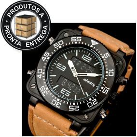 989a0388cf0 Relogio Infantry Pulseira De Couro - Relógios no Mercado Livre Brasil