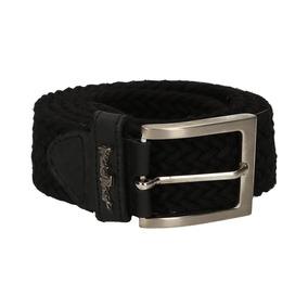 0935_cinturon Ituzaingo 18 | Cinturón De Tela Negro