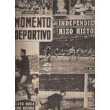 Revista Momento Deportivo Indep. Copa Racing Estud Gimnasia