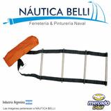 Escalera Nautica Cinta + Acero Inox. C/bolsa - Embarcaciones