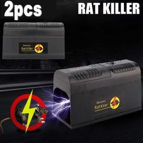 2 X Ratón Electrónico Trampa Victor Control Rata Asesino