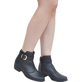 Bota Feminina Ankle Boots Direto Da Fábrica Varejo E Atacado