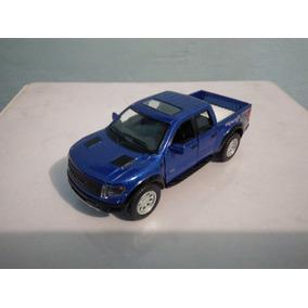 2013 Ford F-150 Svt Raptor Camper Escala 1/46 Camioneta Azul