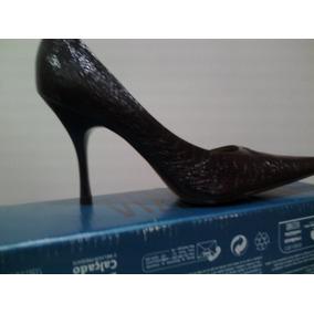 Zapatos Marrones Para Damas Altos