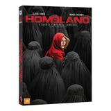 Dvd Homeland - 4ª Temporada - 4 Discos Original Lacrado