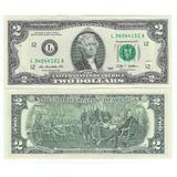 Estados Unidos - Billete 2 Dólares 2009 L - Nuevo!!!