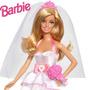 Princesa Barbie Novia Mattel Juguete Niñas
