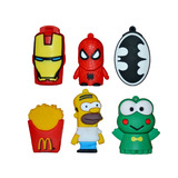 Pen Drive 8gb Animados, Superheroes, Personajes Super Oferta