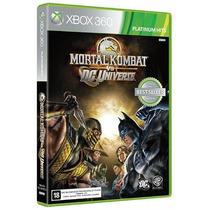 Mortal Kombat Vs Dc Universe Xbox 360 - Mídia Física Lacrado