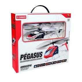 Mini Helicoptero Pegasus Controle Remoto 3 Canais C/ Gyro