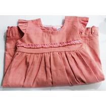 Vestido Jumper Corderoy Para Niñas Nuevo