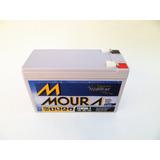 Bateria Estacionária Moura 12 Volts 07 Ah Amperes No-break