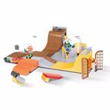 Bloques Cobi Action Town Pista De Skate 420 Piezas