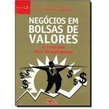 Livro Negócios Em Bolsas De Valores Valdir Lameira