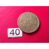 Moneda Con Error 50 Pesos Coyolxauhqui Descentrada 1982 #40