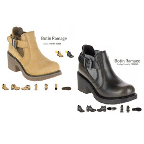 Botas Cat Ramage Lady Honey Y Negros! Borcegos Dama Cat