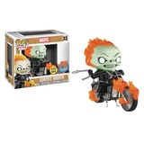Funko Pop Ghost Rider (glow In The Dark) Brilla En La Oscuri