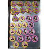Logo De Soy Luna Para Cupcakes Y Tortas En Pastillaje