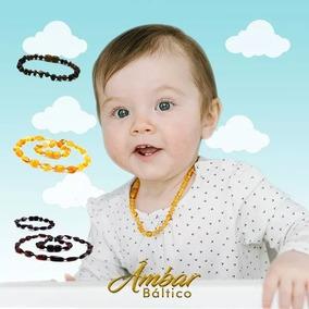 Pulseira/tornozeleira Âmbar Para Bebê Original Para Dentição