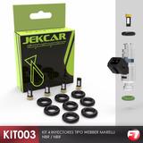 Kit003 Limpieza Inyectores Oring Microfiltros Vw Gol