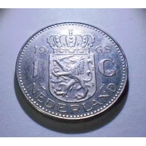 Holanda 1 Gulden 1968 - Excelente - Canto Parlante