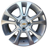 Roda Aro 14 Onix/ Prisma Prata Diamantada Corsa Celta Monza