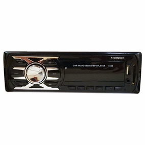 Toca Mp3 Carro Usb Sd Aux Rca Radio Fm First Option 6660
