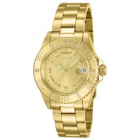 Invicta Hombre 12820 Pro Diver Reloj Acero Inoxidable Champa