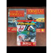 Lote Com 3 Anuários Formula 1