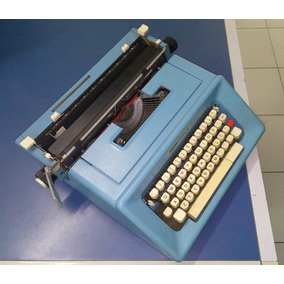 Máquina De Escrever Olivetti Studio 46, Garantia De 3 Meses!